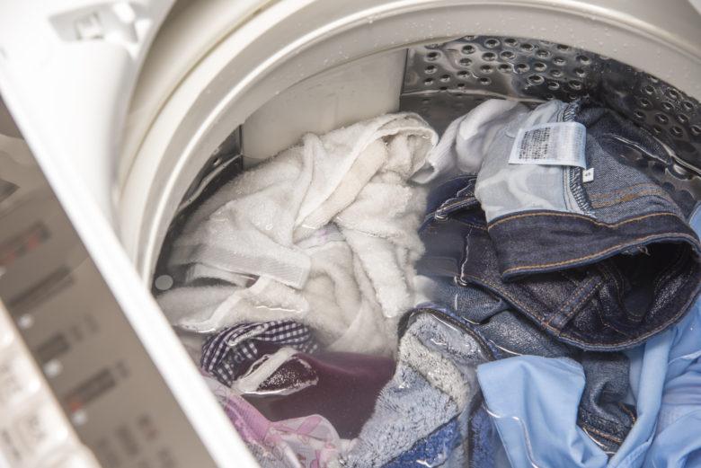 つけ置き洗い,洗濯機