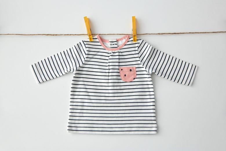 赤ちゃん,洗濯,服