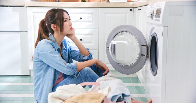 汗,洗濯,洗濯機