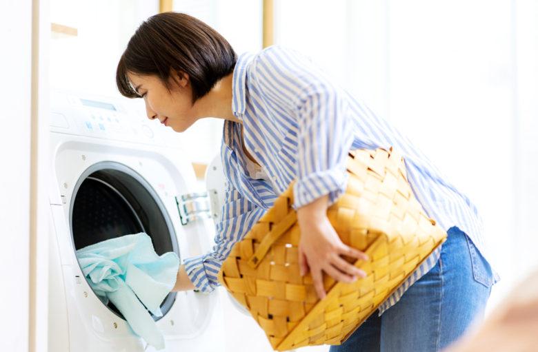 服,シワ,洗濯