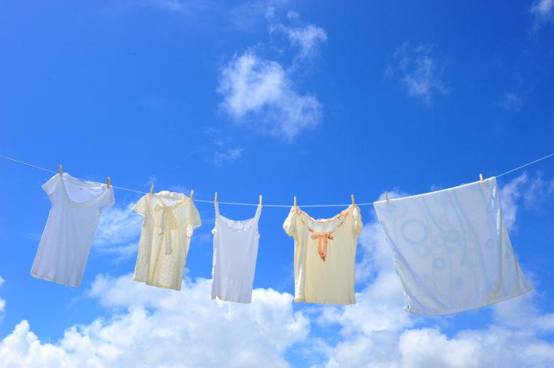 洗濯物,干し方