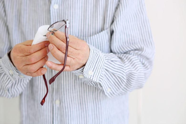 メガネ拭き,洗濯