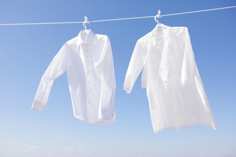 洗濯物,青空